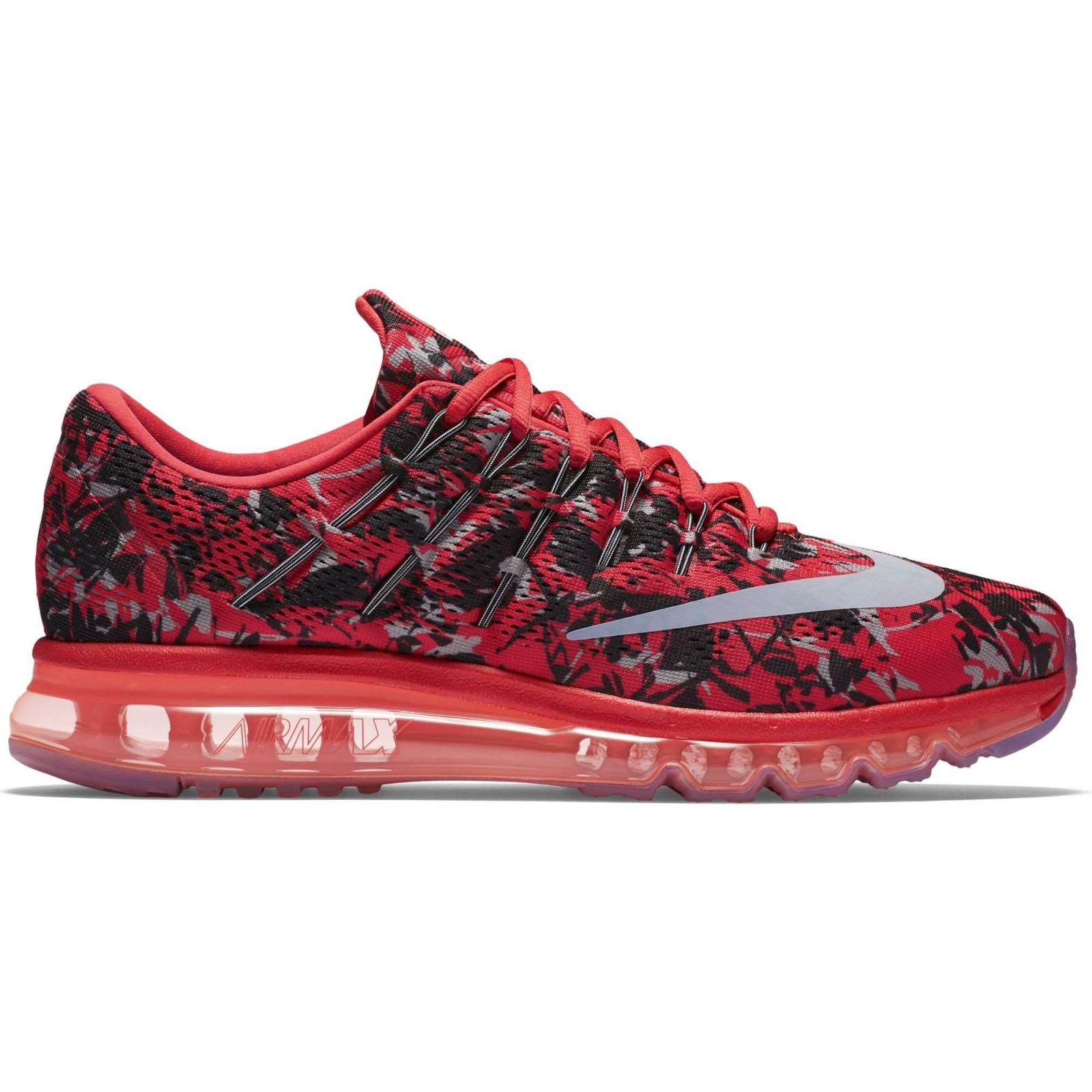 02a5787a0c9 Pánské boty Nike AIR MAX 2016 PRINT červené