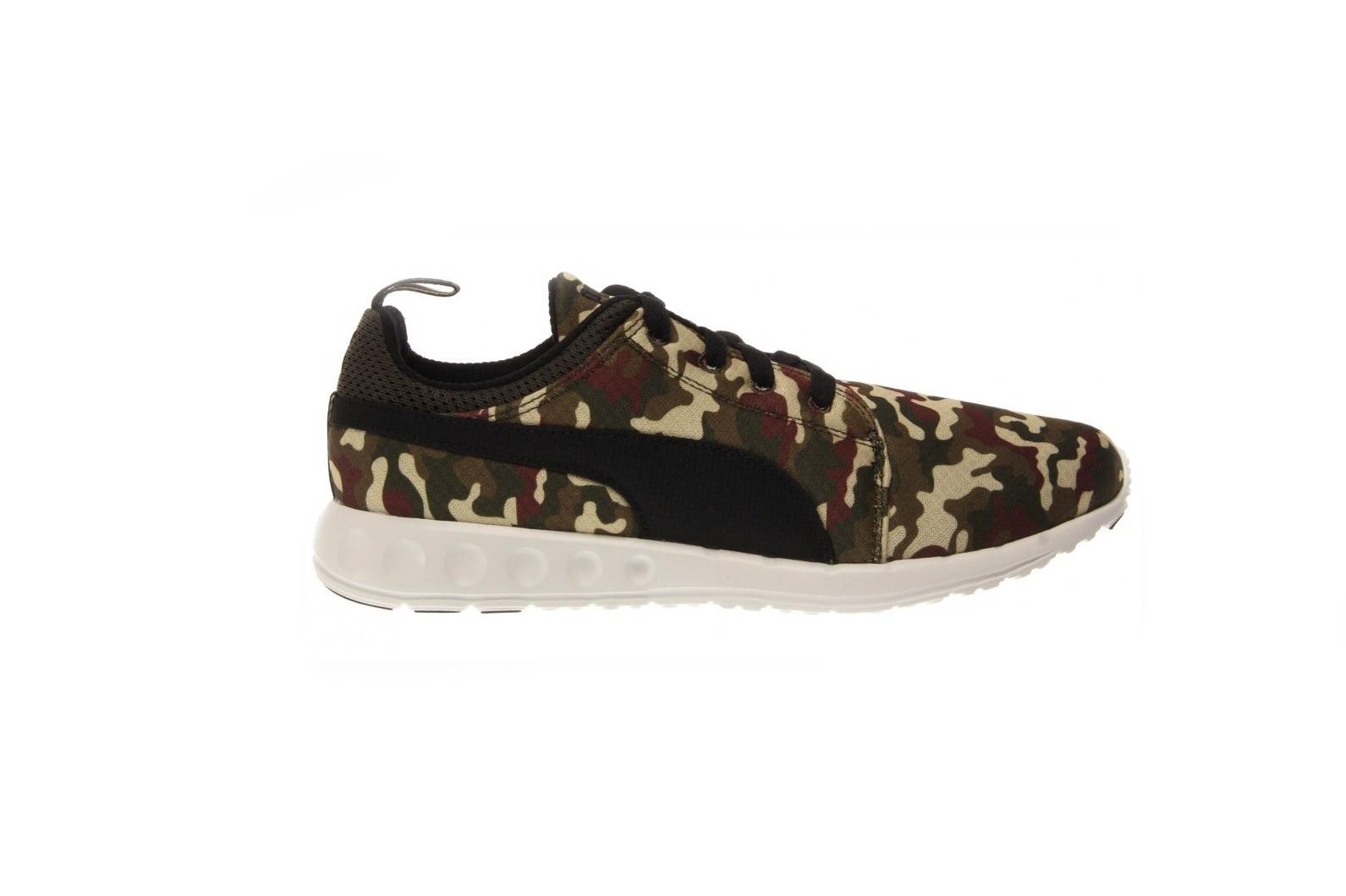 Pánské boty Puma Carson Runner Army Camo pale k  49eb7faa05