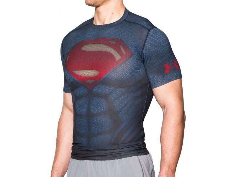 Pánské kompresní tričko Under Armour UA Superman Suit SS  9c448229b5c