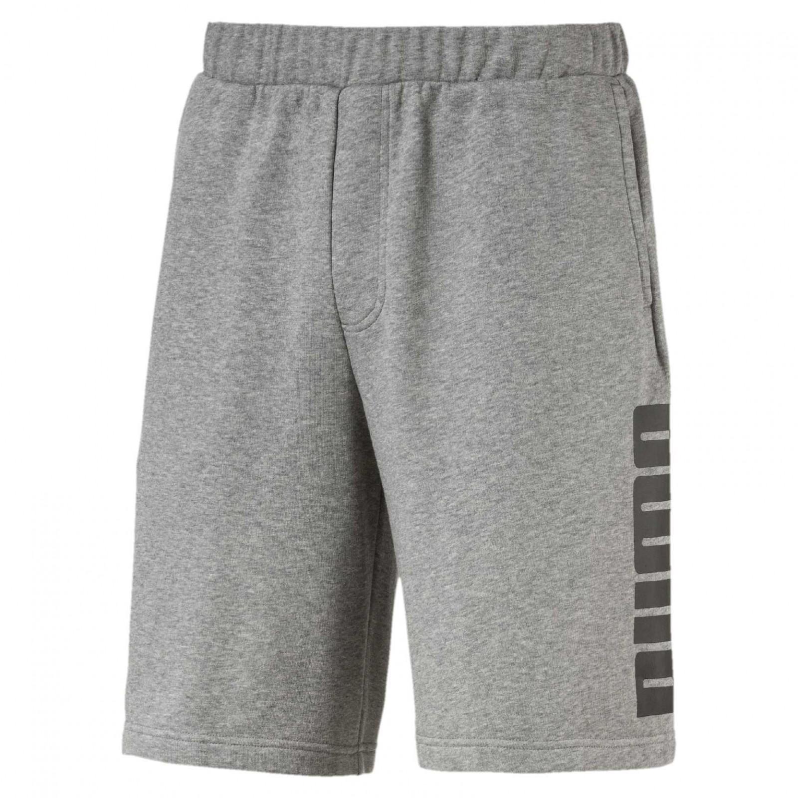 f8f8d9defb3 Pánské Kraťasy Puma Rebel Sweat Shorts Medium Gray