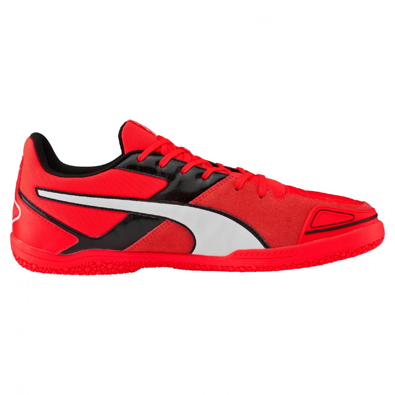 Pánské Sálové boty Puma Invicto Sala Red Blast- Wh  d87f746da2a
