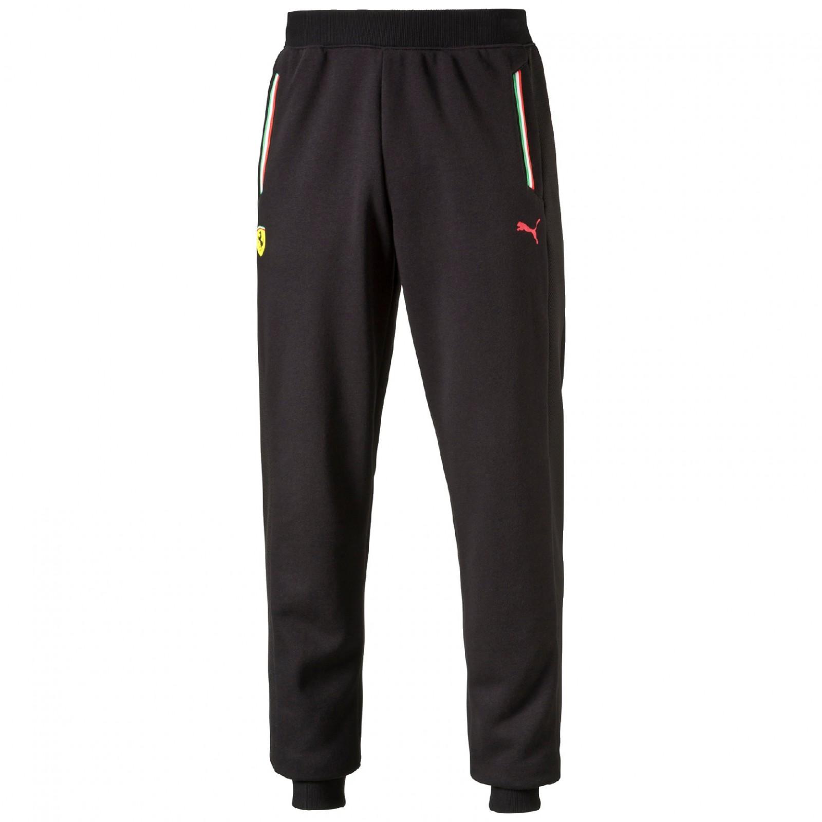 Pánské tepláky Puma Ferrari SF Sweat Pants closed black  ee554a426fe