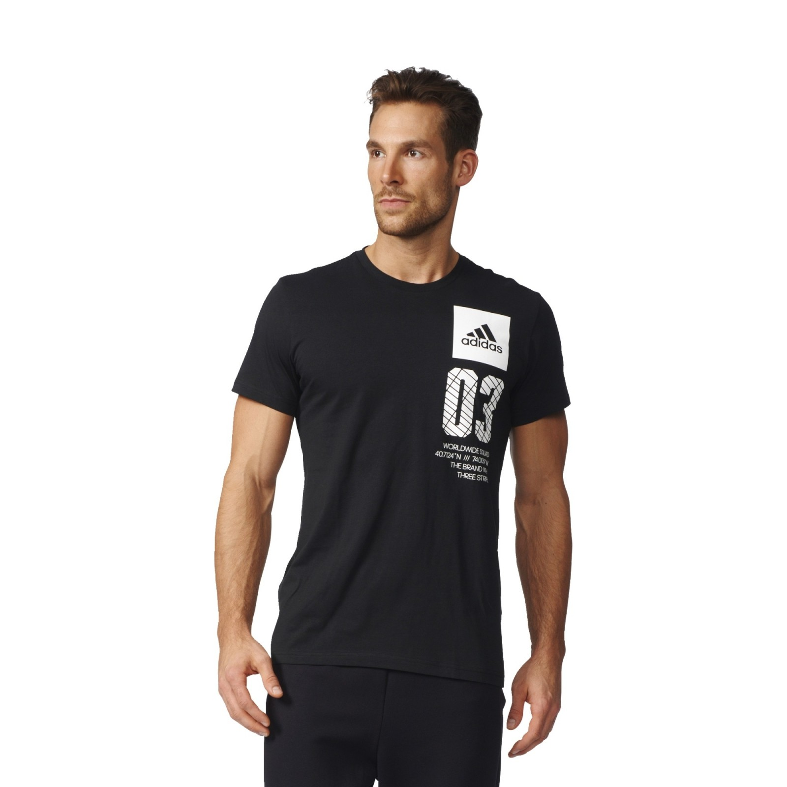 b3780f54dfa Pánské tričko adidas CITY NEW YORK