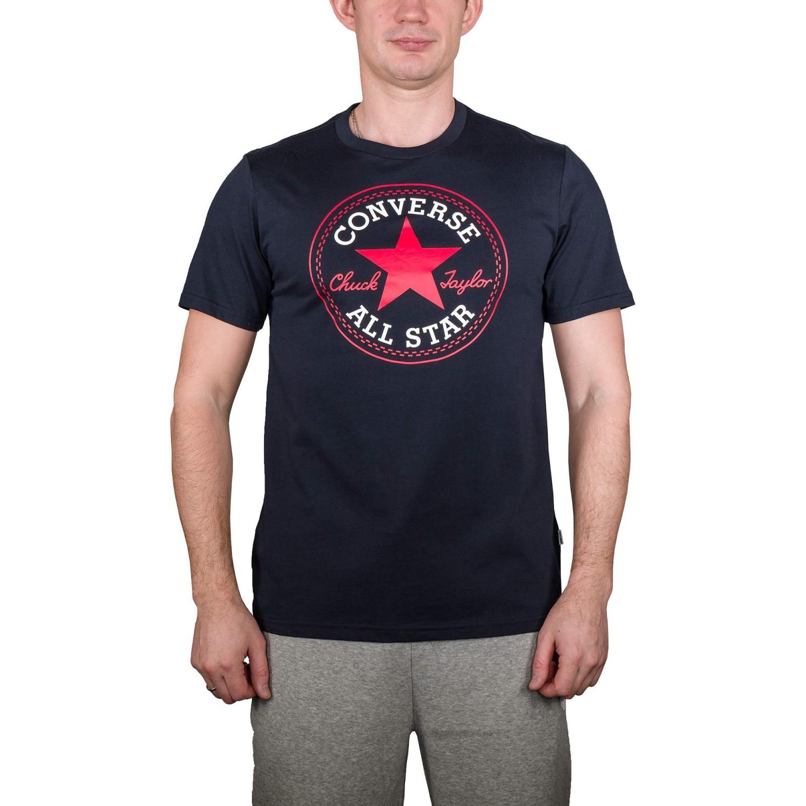 481cbc0d713 Pánské tričko Converse M CORE CHUCK PATCH TEE