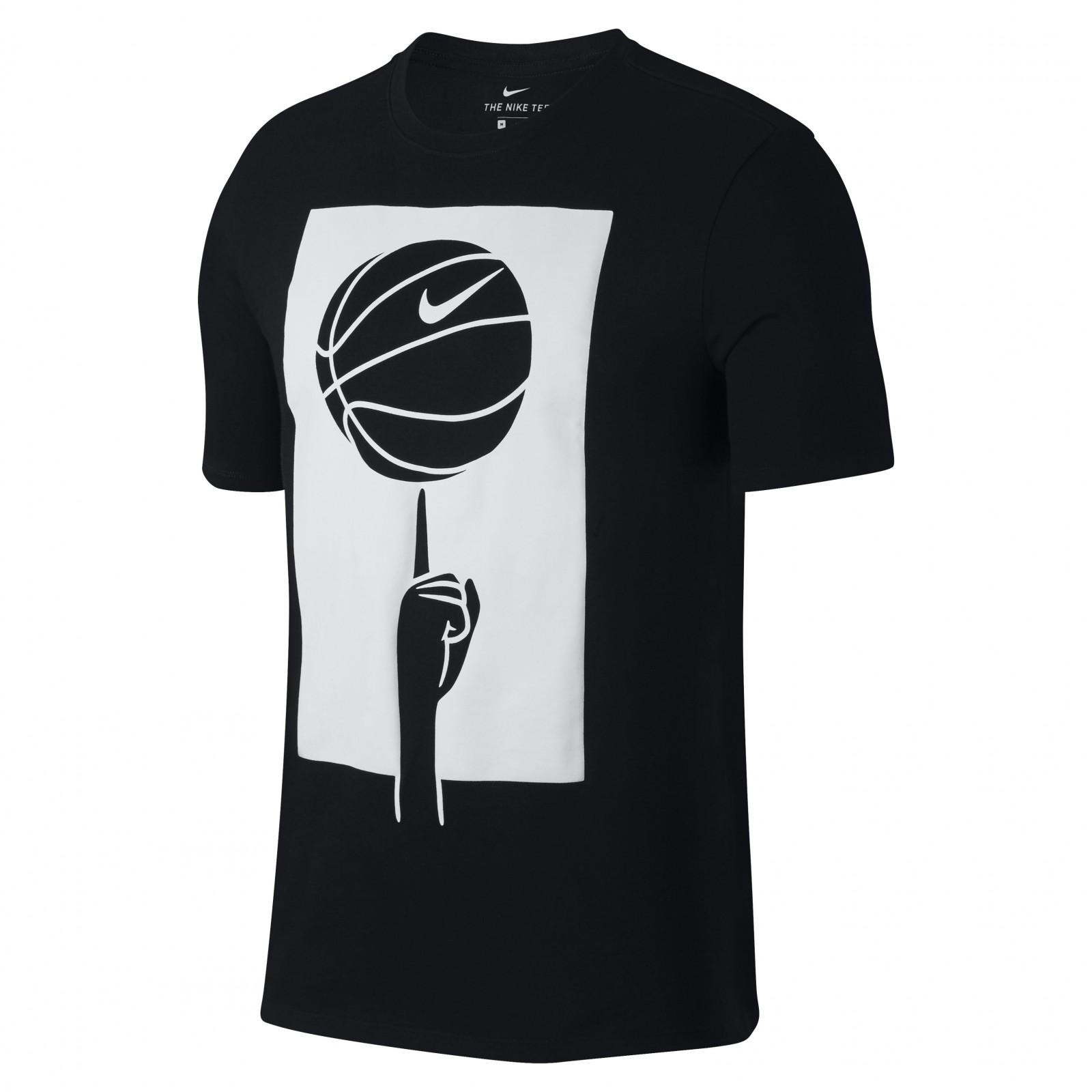 f1b2f0da6804 Pánské tričko Nike M NK DRY TEE SPINNING BALL