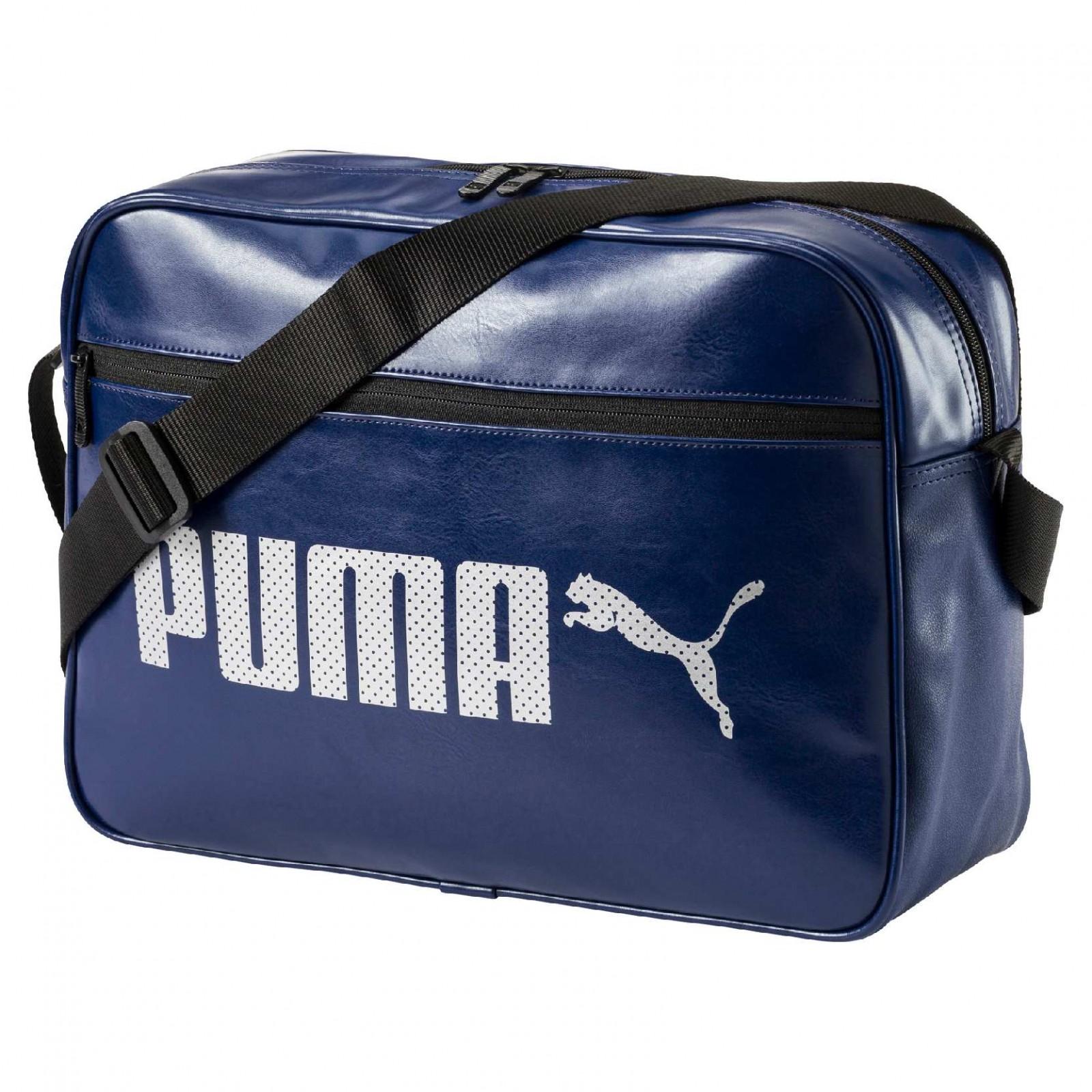 Taška Puma Campus Reporter Blue Depths  57cb6e40b2