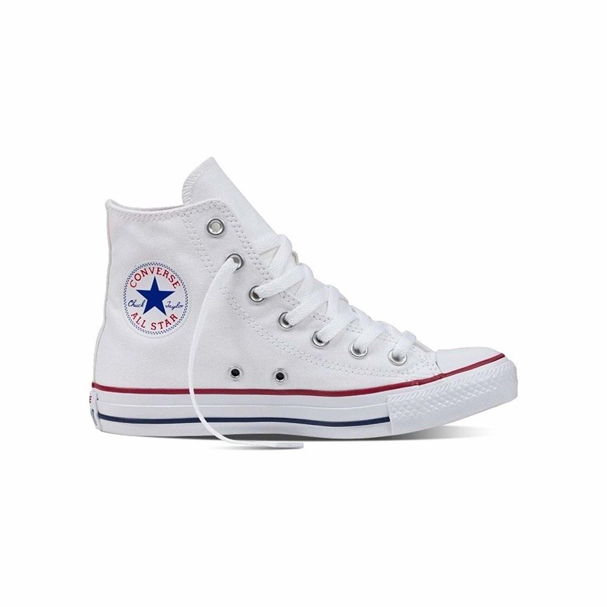Unisex kotníkové boty Converse Chuck Taylor All Star bílé  f070096b7b