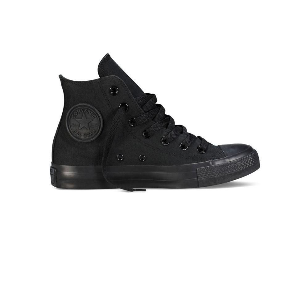 Unisex kotníkové boty Converse Chuck Taylor All Star černo-černé  e583cda0b9