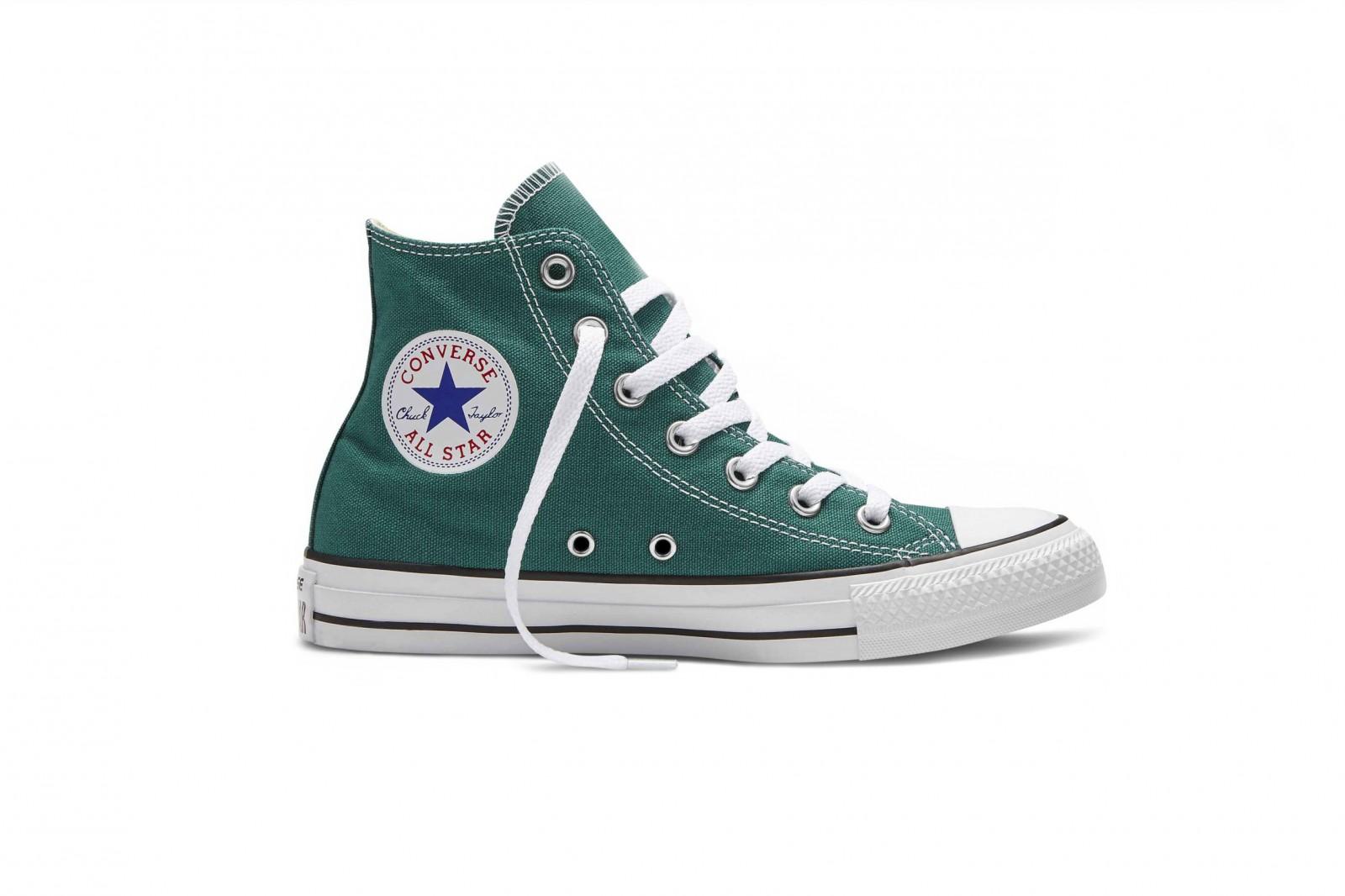 Unisex kotníkové boty Converse Chuck Taylor All Star zelené  b7a447b86d3
