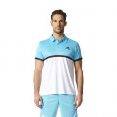 Adidas COURT POLO | BK7042 | Modrá, Bílá | M