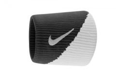 Černobílá potítka Nike DRI-FIT WRISTBANDS 2.0 NS