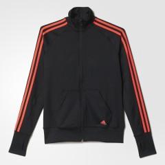 Dámská bunda adidas BASICS TRACKTOP | AJ4867 | Černá | L