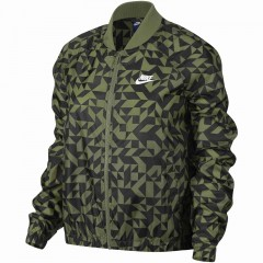Dámská bunda Nike W NSW JKT TANGRAMS | 829729-331 | Černá, Zelená | L