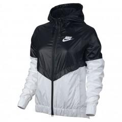 Dámská bunda Nike W NSW WR JKT | 804947-010 | Bílá, Černá | L