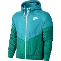 Dámská bunda Nike WINDRUNNER XL OMEGA BLUE/RIO TEAL/WHITE