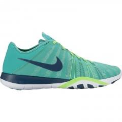 Dámská fitness obuv Nike WMNS FREE TR 6 38 CLEAR JADE/MIDNIGHT TURQ-RAGE