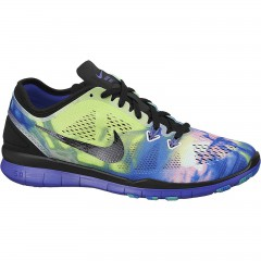 Dámská fitness obuv Nike WMNS NKE FREE 5.0 TR FIT 5 PRT 41 BLACK/BLACK-PRSN VIOLET-PHT BL
