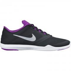 Dámská fitness obuv Nike WMNS STUDIO TRAINER 2 40 BLACK/METALLIC SILVER-HYPR VLT