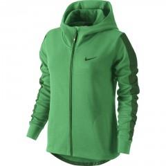Dámská mikina Nike ADVANCE 15 FLEECE CAPE | 725720-342 | Zelená | M