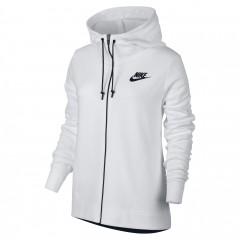Dámská mikina Nike W NSW AV15 HOODIE FZ | 857416-100 | Bílá | L