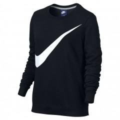 Dámská mikina Nike W NSW CRW FLC GX | 832720-010 | Černá | L