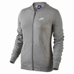Dámská mikina Nike W NSW JKT FLC | 829401-063 | Šedá | L