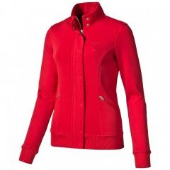 Dámská mikina Puma Ferrari Ferrari Sweat Jacket rosso cor | 569356-02 | Červená | L