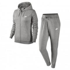 Dámská souprava Nike W NSW TRK SUIT FLC | 803664-063 | Šedá | L