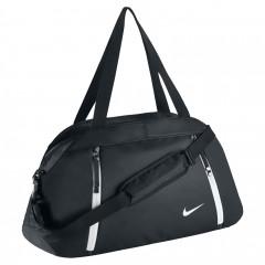 Dětská taška Nike AURALUX CLUB - SOLID MISC BLACK/BLACK/WHITE
