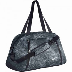 Dámská taška Nike W NK AURA CLUB - PRINT MISC BLACK/BLACK/WOLF GREY