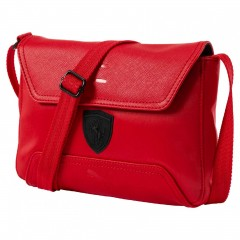 Dámská taška Puma Ferrari Ferrari LS Small Satchel Rosso | 074845-02 | Červená | NS