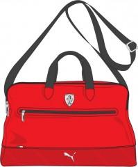 Dámská taška Puma Ferrari Ferrari LS Weekender rosso cor NS