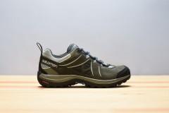 Dámská Treková obuv Salomon ELLIPSE 2 LTR W SHADOW/Beluga/ | 398538 | Zelená | 38