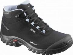 Dámská treková obuv Salomon SHELTER CS WP W BLACK/BLACK/ST   376873   Černá   38