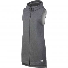 Dámská vesta Nike W NSW MODERN VEST FZ L CARBON HEATHER/DARK GREY