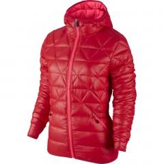 Dámská zimní bunda Nike ALLIANCE JKT-550 HOOD LTW | 626975-660 | Červená | M