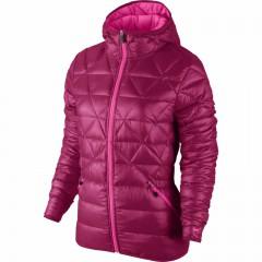 Dámská zimní bunda Nike ALLIANCE JKT-550 HOOD LTW | 626975-691 | Růžová | L
