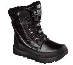 Dámská zimní obuv Skechers MEMENTOS - SNOW CAP | 34355--BBK | Černá | 40