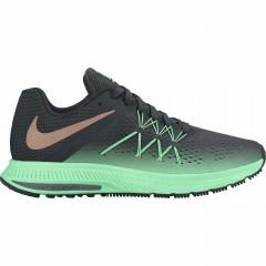 Dámské běžecké boty Nike W ZOOM WINFLO 3 SHIELD | 852444-300 | Černá, Zelená | 38