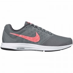 Dámské běžecké boty Nike WMNS DOWNSHIFTER 7 WIDE 37,5 COOL GREY/LAVA GLOW-DARK GREY-
