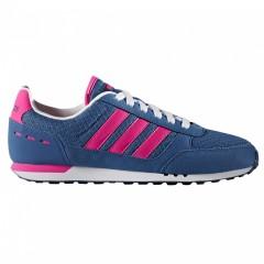Dámské boty adidas CITY RACER W | B74492 | Modrá, Růžová | 39