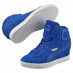 Dámské boty Puma Vikky Wedge dazzling blue 38