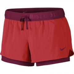 Dámské kraťasy Nike FULL FLEX 2 IN 1 2.0 SHORT   777488-697   Červená   L