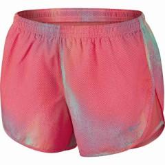 Dámské kraťasy Nike PRINTED MOD TEMPO SHORT (SU15) | 645558-654 | Červená | L