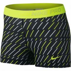Dámské kraťasy Nike PRO BOLT 3 SHORT S BLACK/WHITE/VOLT