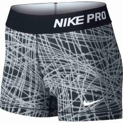 Dámské kraťasy Nike PRO COOL 3 SHORT TRACER | 725455-010 | Bílá, Černá | XS