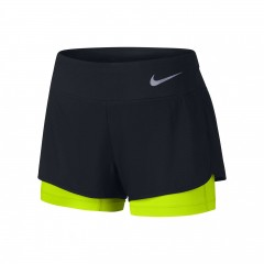 Dámské kraťasy Nike W NK FLX 2IN1 SHORT RIVAL   831552-010   Černá   L