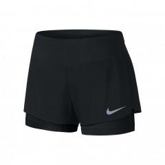 Dámské kraťasy Nike W NK FLX 2IN1 SHORT RIVAL   831552-011   Černá   S