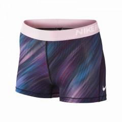 Dámské kraťasy Nike W NP CL SHORT 3IN LT STRK   831992-665   Modrá, Růžová   S