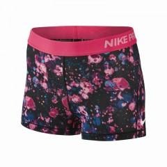 Dámské kraťasy Nike W NP CL SHORT 3IN MICROCOSM   831990-617   Černá, Růžová   M